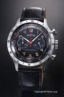 SONNEゾンネ腕時計HistricalCollection(ヒストリカルコレクション)ブラック/ブラックレザーストラップHI003BK-BK