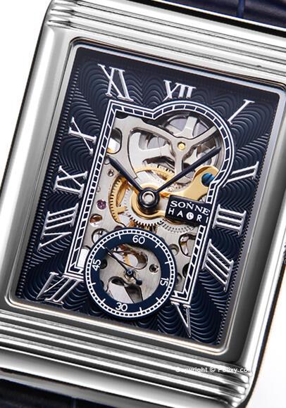 ゾンネ 腕時計 SONNE 時計 メンズ SONNE×HAORI Produced KOICHI IWAKI (ゾンネ×ハオリ 岩城滉一 コラボレーションモデル) H021SS-NV