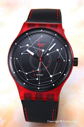 SWATCH スウォッチ 腕時計 Sistem 51 (システム51) Sistem Red (システム・レッド) SUTR400 【あす楽】