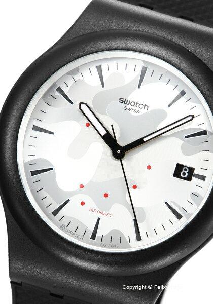スウォッチ時計SWATCHメンズ腕時計ORIGINALSSISTEM51KAMUSUTB407