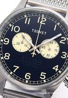 ソベットTSOVET腕時計SVT-DE40シリーズネイビーDE112801-43【】