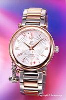【VivienneWestwood】ヴィヴィアンウエストウッド腕時計Orb(オーブ)シルバー×ローズゴールドレディスVV006RSSL