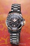 【VivienneWestwood】ヴィヴィアンウエストウッド腕時計KnightbridgeII(ナイツブリッジ2)ブラック×ローズゴールドレディスVV088RSBK