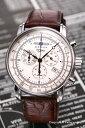 ツェッペリン 腕時計 メンズ ZEPPELIN ツェッペリン生誕100周年モデル クロノグラフ アラーム ビンテー...