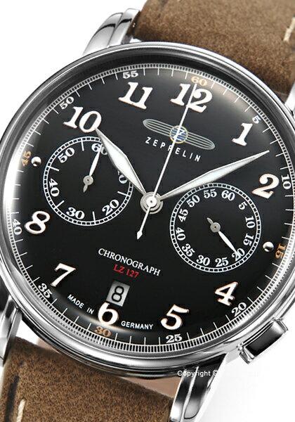 ツェッペリン 時計 ZEPPELIN 腕時計 メンズ LZ127 Graf Zeppelin 8678-2