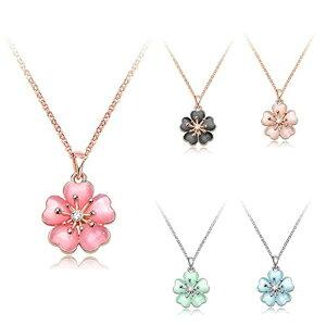 IUHA【季節の花】 桜ネックレス さくら 櫻 ミニサイズ