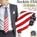 ネクタイ ナロータイ USA アメリカ 国旗 デザイン 赤白紺 | ネクタイ necktie ナロータイ おしゃれ 国旗 赤 レッド 余興 白 ホワイト USA おもしろ アメリカ 星条旗 アメリカ合衆国 紺 ネイビー 結婚式 二次会 パーティー 衣装