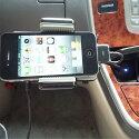 店長も愛用!IPHONE3GSまでIPOD全般対応車載FMトランスミッター+リモコン付き