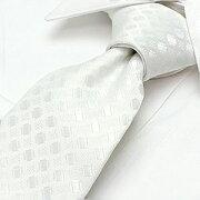 ネクタイ ブランド チェック デザイン フォーマル 冠婚葬祭 ビジネス