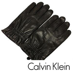 カルバンクライン手袋 [ CalvinKleinグローブ ]( Calvin Klein 手袋 カルバン クライン ) レザー ...