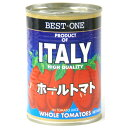 【BEST-1】 ホールトマト 400g 1缶 110円