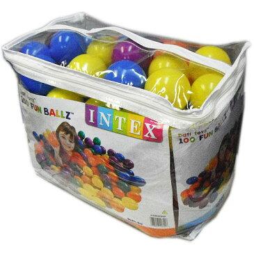 INTEX ファンボール100個セット 1519円【ボールプール FUN BALLZ INTEX costco コストコ 】