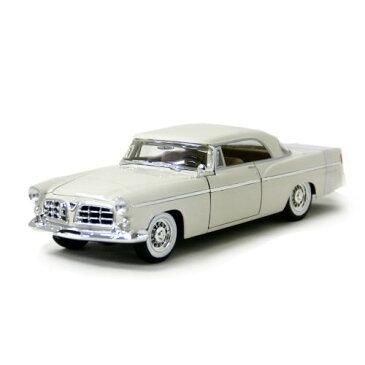 1956 CHRYSLER 300 B White 1/18 7315円 【ダイキャストカー,クライスラー,1956,ホワイト,アメ車,セダン】【コンビニ受取対応商品】