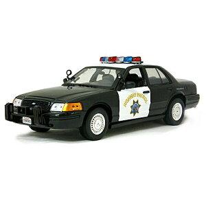 California Highway Patrol BK 1/18 8000円 【MotorMax,カリフォルニア ハイウェイパトロール,ブラック,パトカー,アメリカ,ミニカー,警察 アメリカン ポリス CHP 】【コンビニ受取対応商品】