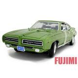 1969 PONTIAC GTO JUDGE grn 1/18 American Classics MOTOR MAX 7728円 ポンティアック GTO 緑 ミニカー マッスルカー ダイキャストカー【コンビニ受取対応商品】