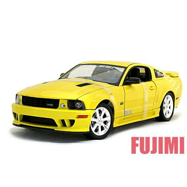 2007 Saleen S281 E Mustang yel 1/18 WELLY COLLECTION 7315円【サリーン,フォード,マスタング,ミニカー,黄 ダイキャストカー】【コンビニ受取対応商品】