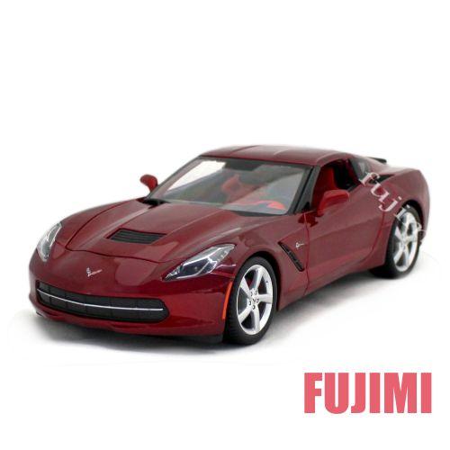 車, ミニカー・トイカー 2014 Corvette Stingray C7 red 118 Maisto 2455 05P20Dec13