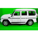 Mercedes-Benz G-Class White 1/24 Welly 3612円【メルセデス ベンツ Gクラス ゲレンデ 白 ホワイト ウェリー ダイキャストカー ミニカー 】【151019】【コンビニ受取対応商品】