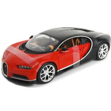 Bugatti Chiron Red 1/18 Maisto 2500円 【 ブガッティ シロン ミニカー マイスト ダイキャストカー スーパーカー ヴェイロン 】
