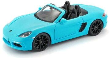 Porsche 718 Boxster Blue 1/24 Bburago 3612円 【 ポルシェ ボクスター 水色 ダイキャストカー マイスト ミニカー boxter オープンカー 2シーター 】【コンビニ受取対応商品】