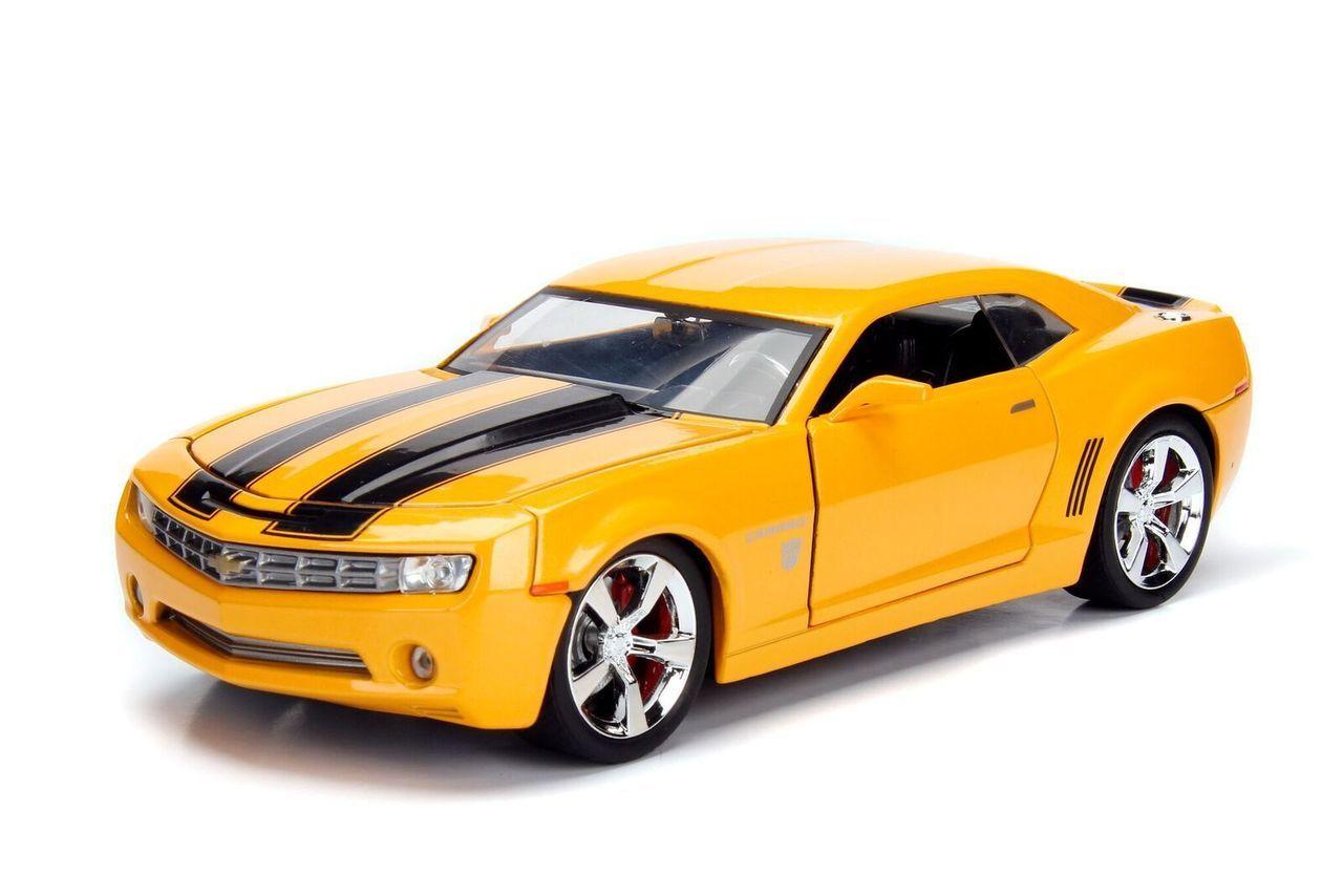 車, ミニカー・トイカー 2006 Chevrolet Camaro Concept Bumblebee Transformers 124 JADA TF5