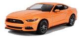 2015 Ford Mustang GT Orange 1:18 Maisto 2,455円 【 フォード マスタング レッド ミニカー マイスト ダイキャストカー 1/18 】【コンビニ受取対応商品】