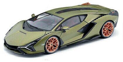 車, ミニカー・トイカー  Sian FKP 37 118 Lamborghini 1:18 Maisto