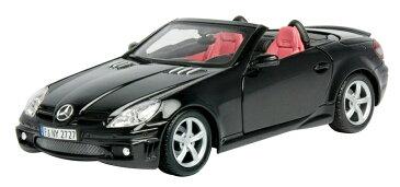 Mercedes-Benz SLK 55 AMG Black 1/24 Motor Max 3546円 【 メルセデス ベンツ アーマーゲー 黒 ブラック マイスト ミニカー ダイキャストカー ドイツ車 オープンカー 】【151216】【コンビニ受取対応商品】