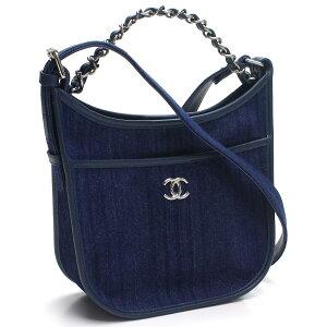 Chanel CHANEL denim 2way diagonal sac à bandoulière A57641 bleu dames [cashless 5% réduction]