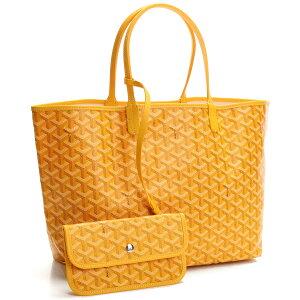 GOYARD GOYARD Saint Louis PM Tote bag avec pochette SAINT LOUIS PM JAUNE Orange system ladies