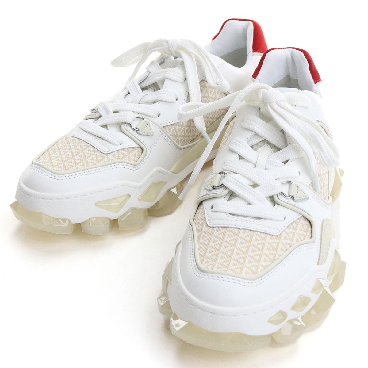 メンズ靴, スニーカー  JIMMY CHOO DIAMOND X TRAINERM FHF 204 X COTTON MIX bos-06 shoes-01