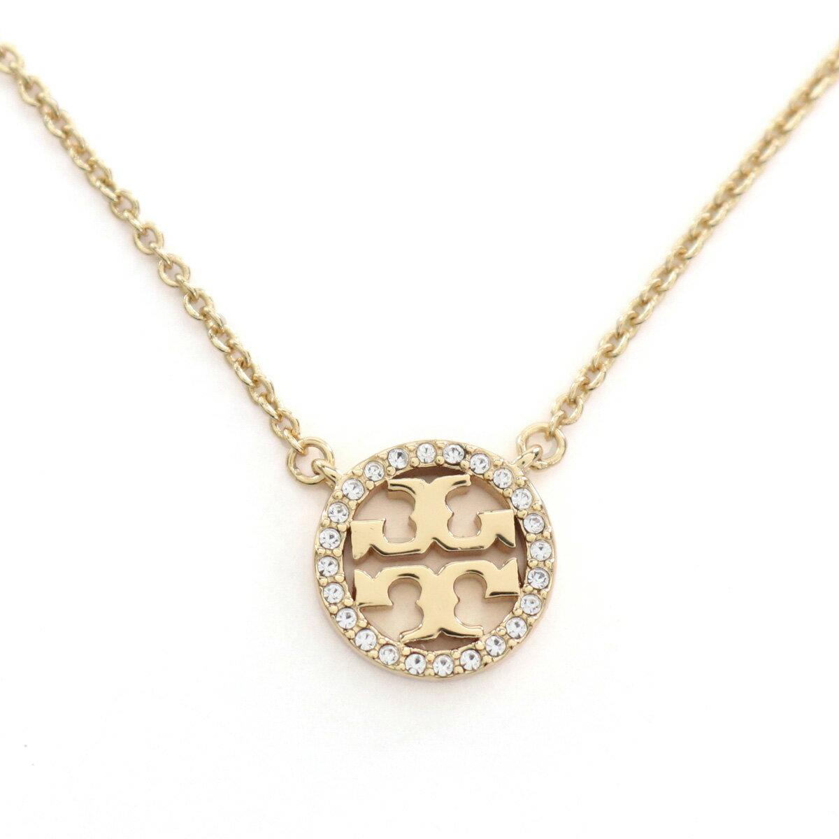 レディースジュエリー・アクセサリー, ネックレス・ペンダント  TORY BURCH MILLER PAVE 53420 783 TORY GOLDCRYSTAL accessory-01 gsw-5