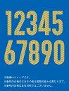 大分トリニータ2019レプリカユニフォーム用(ホーム)番号1桁