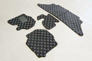 ハイエース標準用3D立体形成フロアマットフロント用