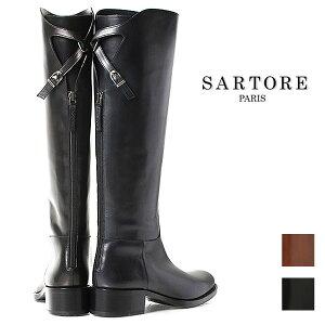 【2013年秋冬モデル】SARTORE サルトル 定番 バックベルト ロングブーツ SR2400 【即納可能】