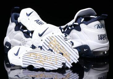 ナイキ メンズ スニーカー Nike Air More Money エア モアマネー Navy/White