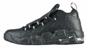 ナイキ ボーイズ/キッズ/レディース スニーカー Nike Air More Money エア モアマネー Black/Met Silver/Pure Platinum