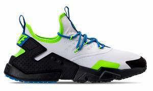 ナイキ メンズ Nike Air Huarache Run Drift スニーカー White/Black/Blue Nebula エア ハラチ ドリフト ランニングシューズ