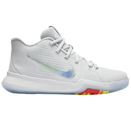 "Nike Kyrie 3 ""Time to Shine"" キッズ/レディース Pure Platinum/Multi-Color/Volt ナイキ カイリー3 Kyrie Irving カイリー・アービング"