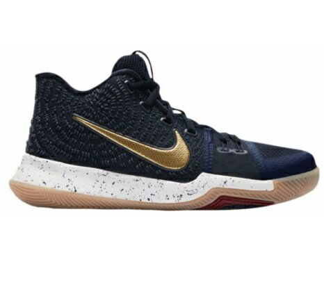 "Nike Kyrie 3 ""Obsidian"" キッズ/レディース Obsidian/Metallic Gold/Summit White ナイキ カイリー3 Kyrie Irving カイリー・アービング"