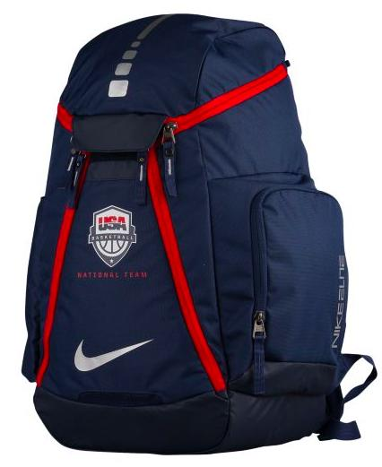Nike Hoops Elite Max Air USA Backpack メンズ Midnight Navy/Matte Silver バックパック ナイキ リュックサック eb