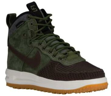 NIKE LUNAR FORCE 1 DUCKBOOTSメンズ Baroque Brown/Black/Sail/Army Olive ナイキ ルナフォース1 ダックブーツ