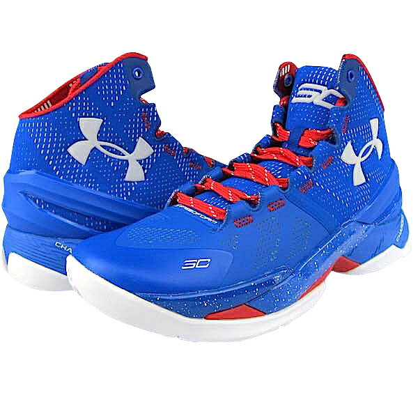 "Under Armour Curry 2 ""PROVIDENCE ROAD""メンズ  Royal/Red/White アンダーアーマー バッシュ ステフィンカリー:trois HOMME"