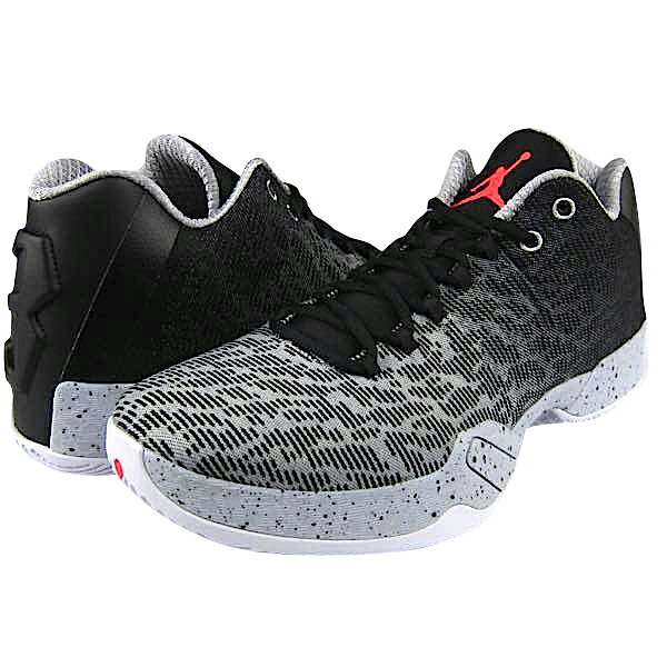 "Jordan XX9 29 Low ""Infrared""メンズ Black/Infrared 23/Wolf Grey/White ジョーダン バッシュ:trois HOMME"