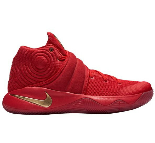 """Nike Kyrie 2 """"Gold Medal""""メンズ University Red/Metallic Gold ナイキ カイリー2 Kyrie Irving カイリー・アービング:trois HOMME"""