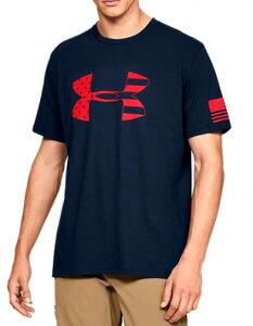 アンダーアーマー メンズ Tシャツ Under Armour Freedom Tonal BFL Tactical Graphic T-Shirt 半袖 Academy