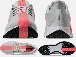 ナイキ メンズ ランニングシューズ Nike Pegasus 35 Turbo ズームペガサス ターボ スニーカー Barely Grey/Hot Punch/White