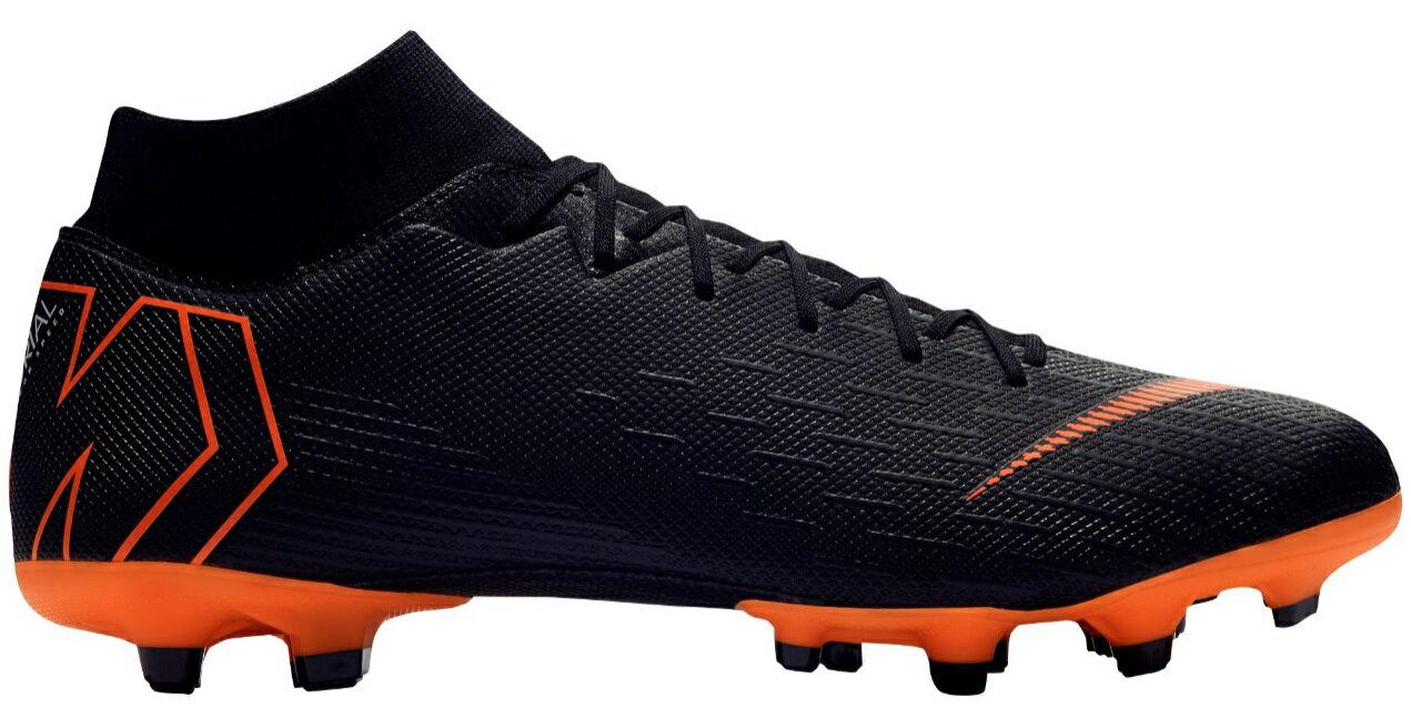 ナイキ メンズ マーキュリアル スーパーフライ Nike Mercurial Superfly 6 Academy サッカー スパイク Black/Total Orange/White画像