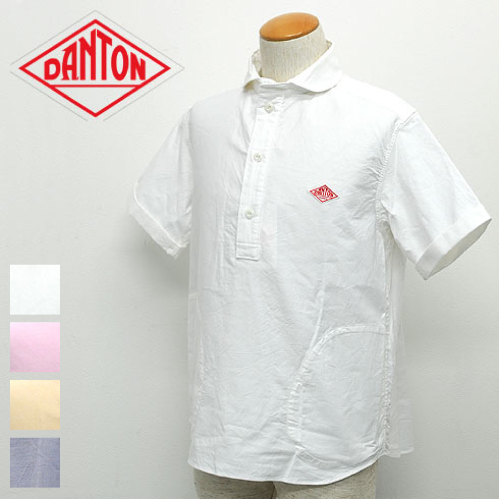 ダントン半袖プルオーバーシャツ