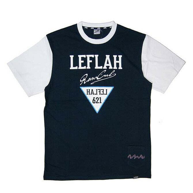 トップス, Tシャツ・カットソー SALE-30LEFLAH() LESS T T-SHIRTS TEE (NAVY)